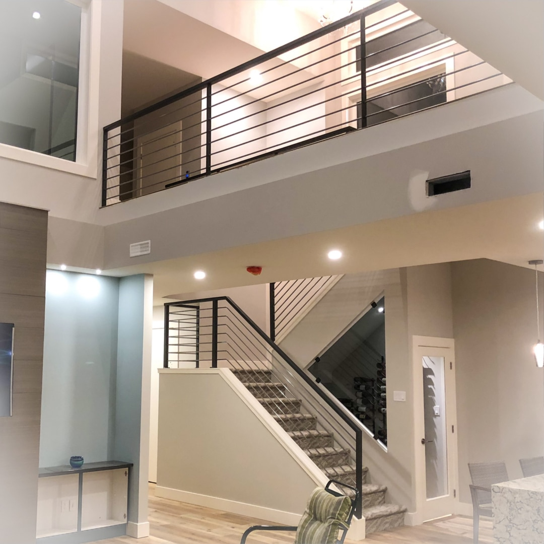 Trufuze Inc - Custom Metal Fabrication - Vernon BC - Services Banner - Stair Cases